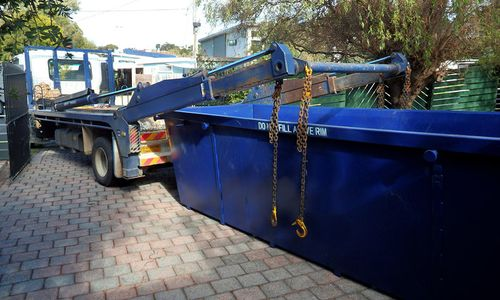 dumpster rental for house in florida