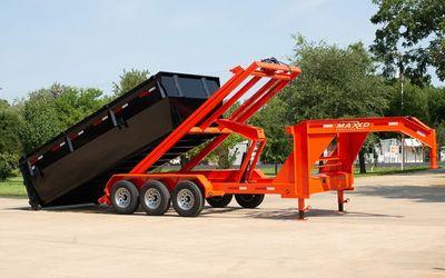 dumpster truck rentals