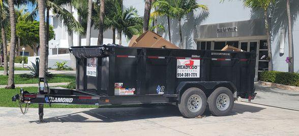 trailer dumpster rental service
